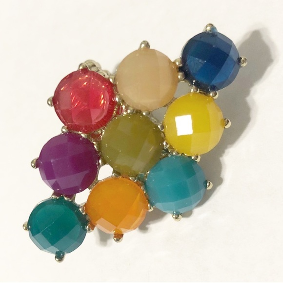Charming Charlie Jewelry - Colorful cocktail ring - stretch band